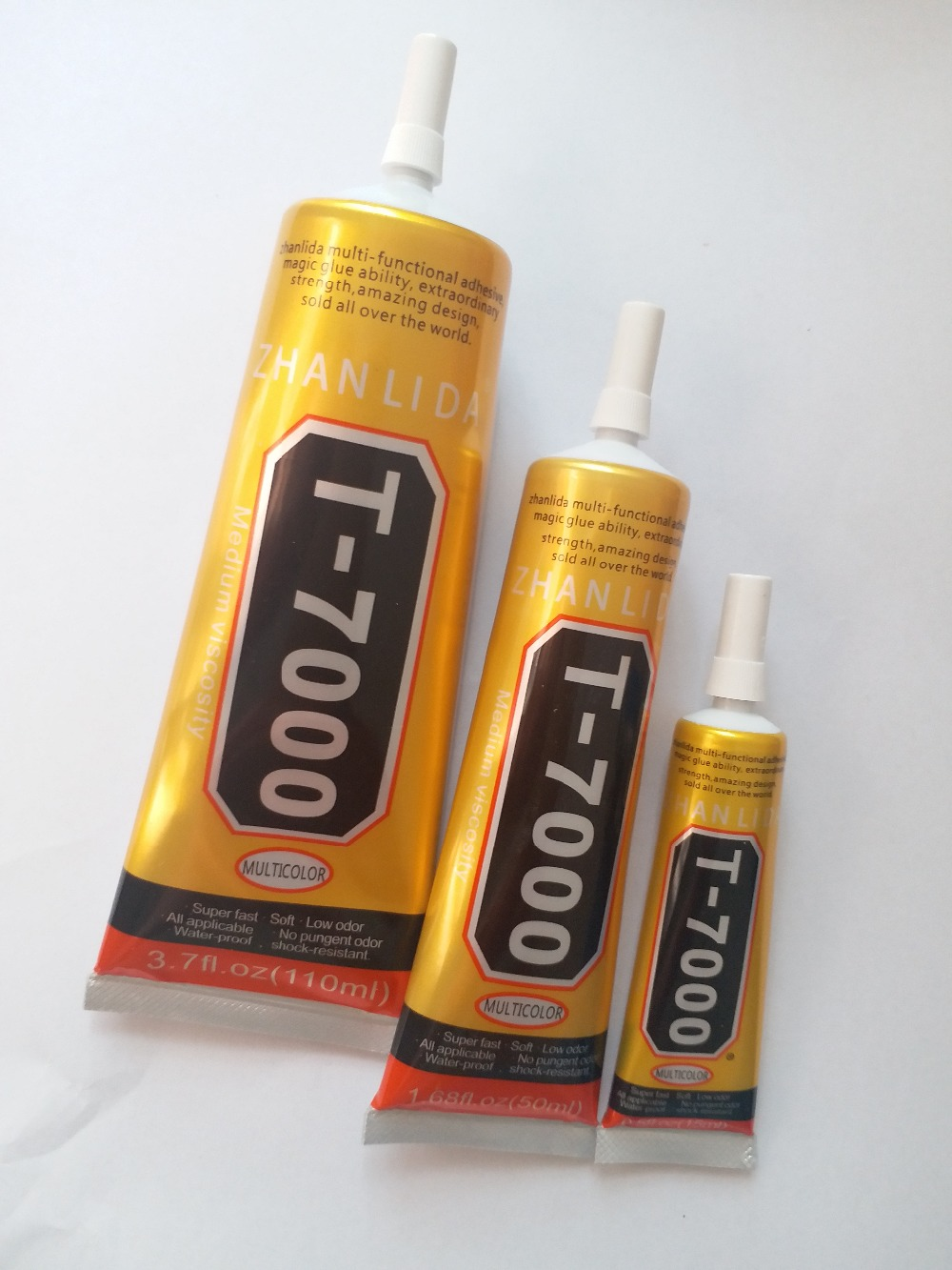 3pcs T 7000 Glue 110ml 50ml 15ml Black Super Adhesive Cell Phone Touch Screen Repair Frame Sealant Diy Craft Jewelry Tools T700|tool tool|tool diy|tools jewelry - title=