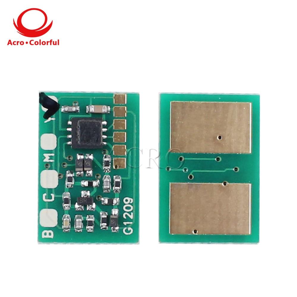One set 24k Compatible Toner Cartridge Chip for OKI C911 C931 C941 C942 45536424 45536423 45536422 45536421 Reset Chip 911
