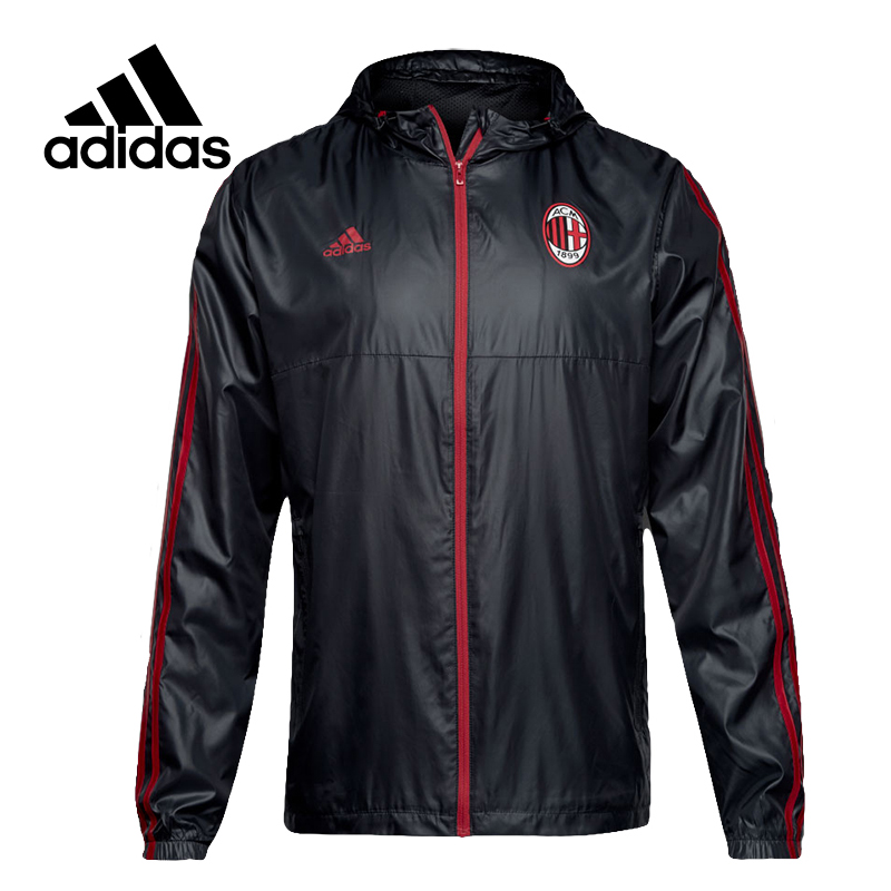 все цены на Adidas Original New Arrival Official Men's Windproof Jacket Hooded Football Training Sportswear BP8211