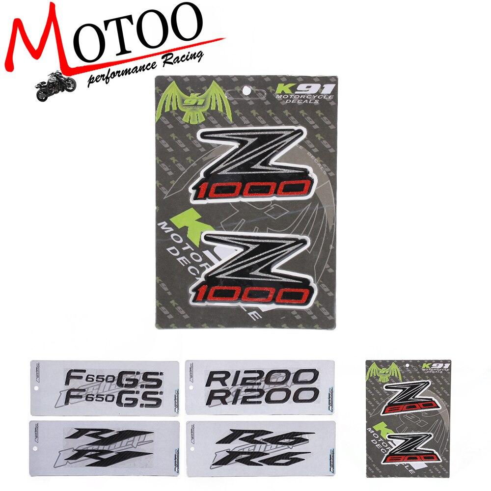 Motoo-motorrad Aufkleber Aufkleber Emblem Abzeichen 3d Angehoben Tank Für Kawasaki Z800 Z1000 Angenehm Bis Zum Gaumen