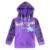 AZUL roxo moda meninos hoodies camisolas jaqueta de roupas de bebê novo ano esportes desgaste das crianças do bebê se adapte às crianças roupas de algodão