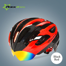 ROCKBROS Mountain Road Bike Cycling Helmet EPS+PC Head Protector 32 Air Vents Ultralight Bicycle Helmet size 57-62cm 50