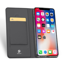 DUX DUCIS Leather Smart Case For iPhone Xs Max Case iPhone Xs Luxury Flip Wallet Phone Cover for iPhone Xs Max X S Hoesje Funda 3