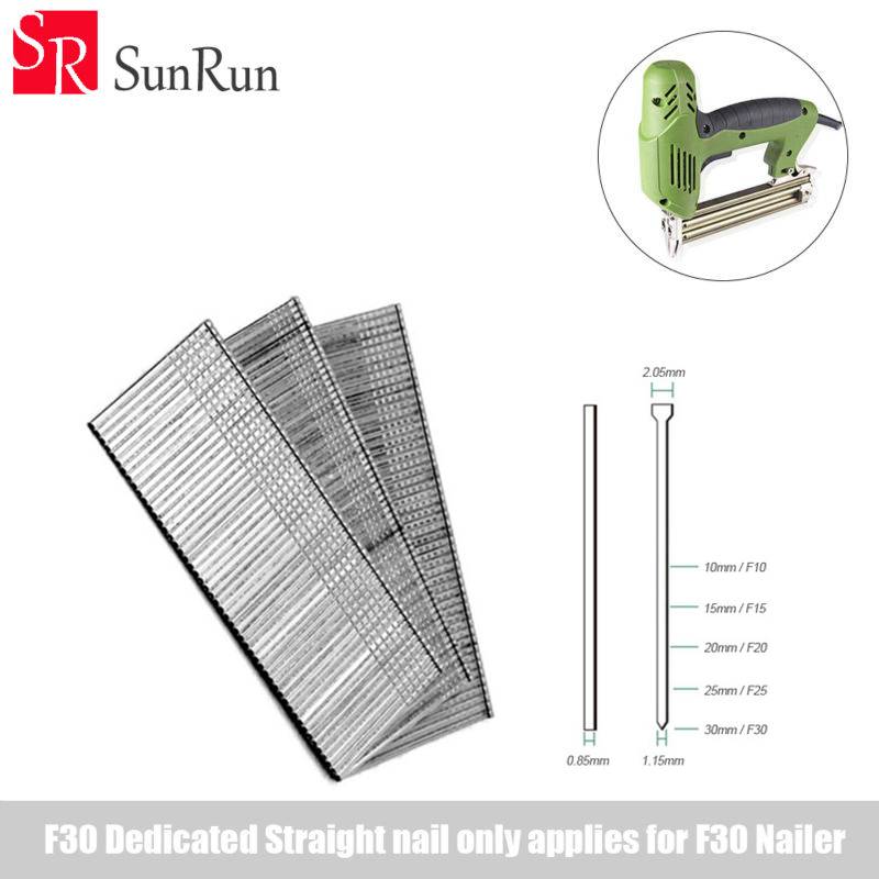 The F30 Dedicated Straight Nail Air Gun Nails Carpentry Nailgun Of Gas Row Nail 1 Box 5000pcs