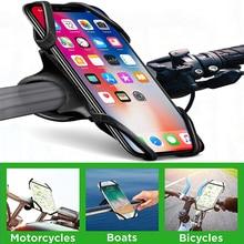 Bicycle Phone Holder for iPhone 8 X 7 6s Samsung S9 Mobile Stand Bike Handlebar Mount GPS Bracket