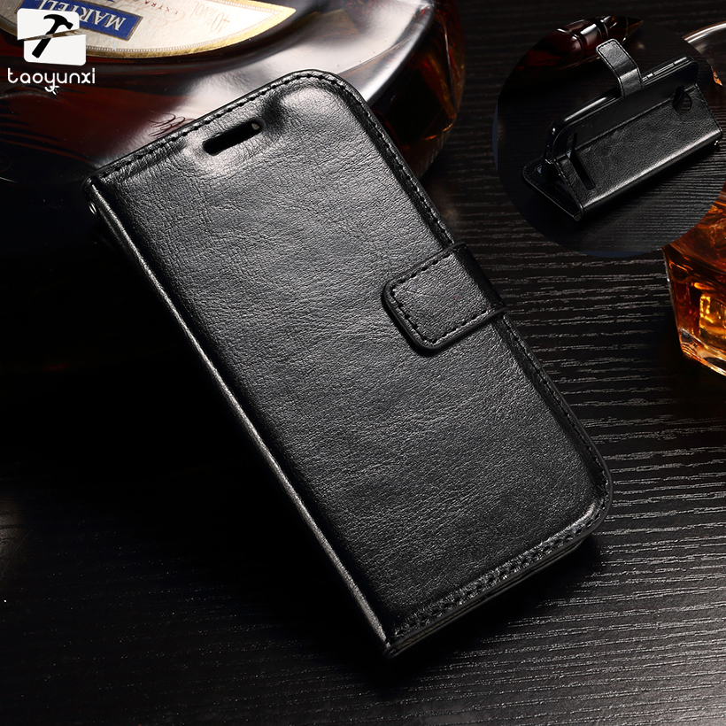 Galleria fotografica TAOYUNXI Cases For Samsung Galaxy J1 Ace J120 J2 J3 J5 J510 J7 J710 Cell Phone Bags Crazy Horse Oil Side PU Leather SCAA02