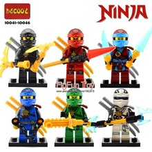 Legoes Ninjagoes Minifigures Sets Kai Jay Cole Zane Lloyd Nya Ghost Ninja GARMADON Morro Phantom Skybound Sky Priate Blocks Toys