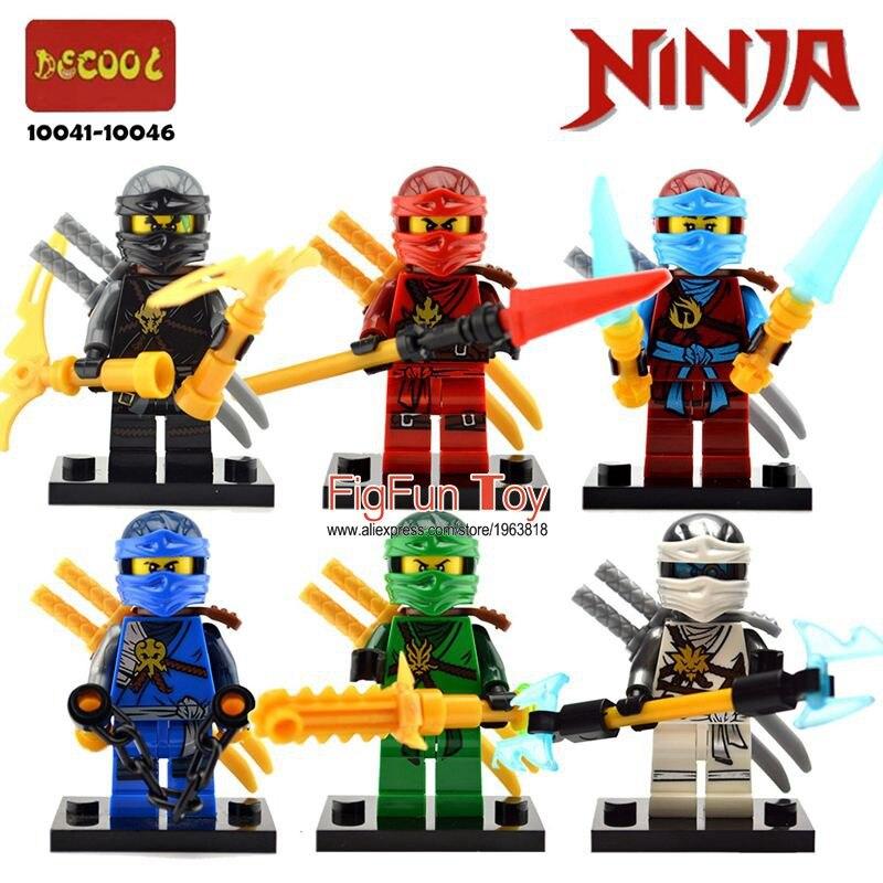 Legoes Ninjagoes Minifigures Setleri Kai Jay Cole Zane Lloyd Nya Hayalet Ninja GARMADON Morro Phantom Skybound Gökyüzü Zemelerle Blokları Oyuncaklar