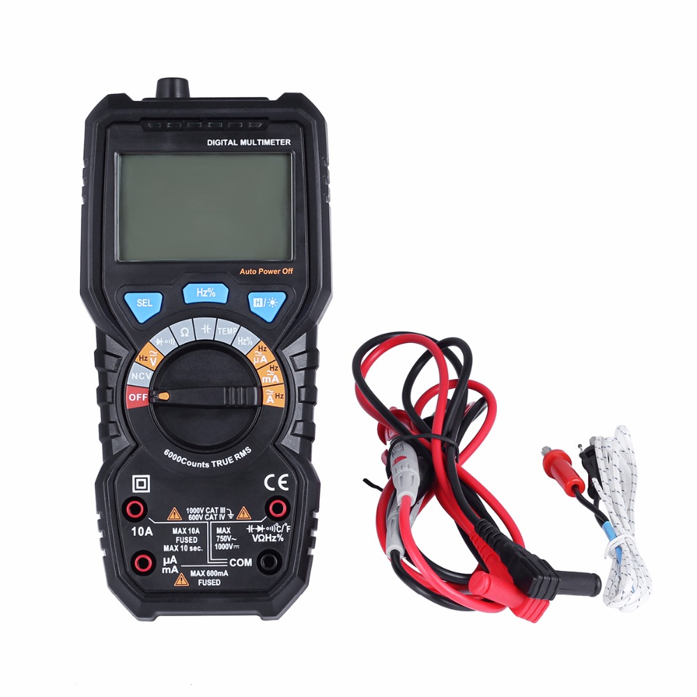 BSIDE ADM08PRO Digital Multimeter AC/DC Voltage current Temperature Frequency Resistance Capacitance Portable Detection NCV test кофейник timemore tsp03