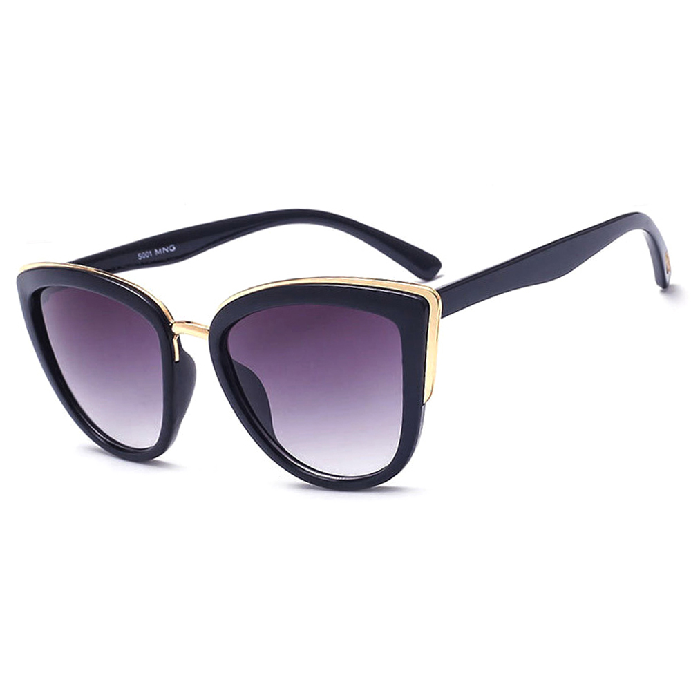 New Fashion Sunglasses Women Cat Eye Vintage Gradient Glasses Retro Brand Designer Cateye Sun Glasses Female Goggles UV Eyewear in Women 39 s Sunglasses from Apparel Accessories
