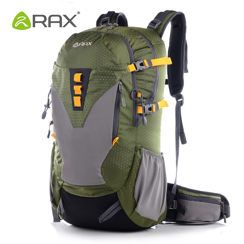 Rax Outdoor professional ultra-light mountaineering bag wear-resistant outdoor sports bag travel bag backpack School Bags