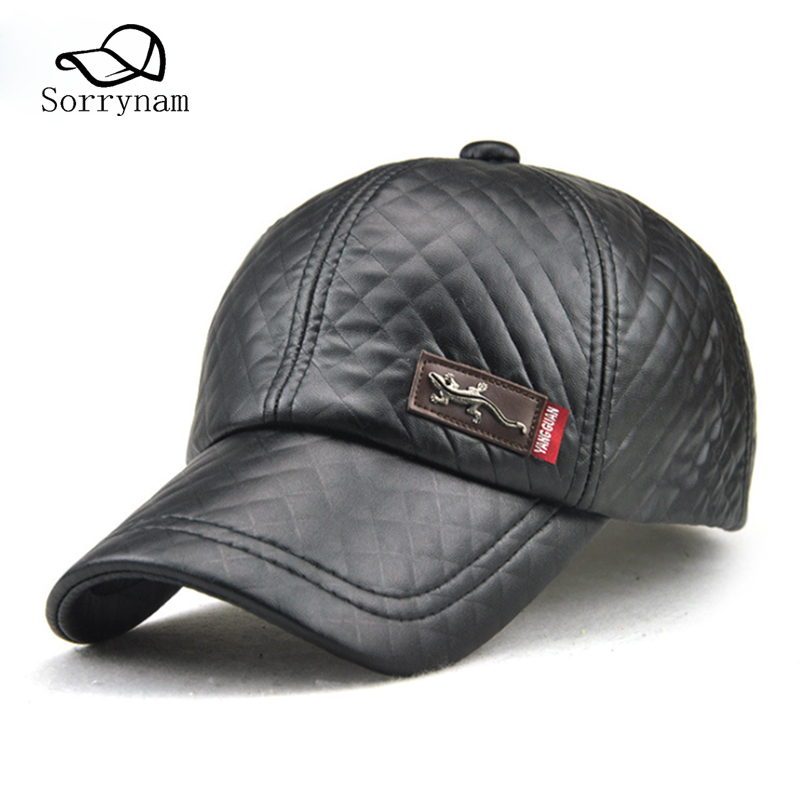mens fashion baseball caps new style hats winter adult men cap outdoor casual old man hat adjustable visor male military