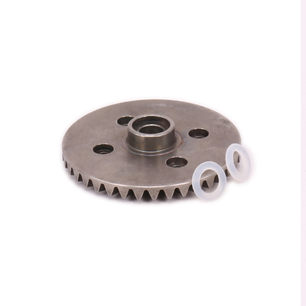 1PC 38T Differential Main Gear For Rc Model Car 1/10 Himoto Big Foot Monster Truck E10MTL E10MT E10BP Bowie Road Warrior Parts 2pcs metal differential driving gear 38t