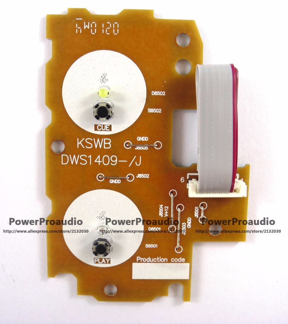 P IONEER CDJ2000 CDJ-2000 Play/Cue PCB Assy Circuit Board Part DWS1409 yellow MADE IN JAPAN