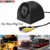 Koorinwoo CCD HD Night Vision Car Camera For Lorry Truck Bus Front view / Side / Rear view Reversing Camera Parking Assistance