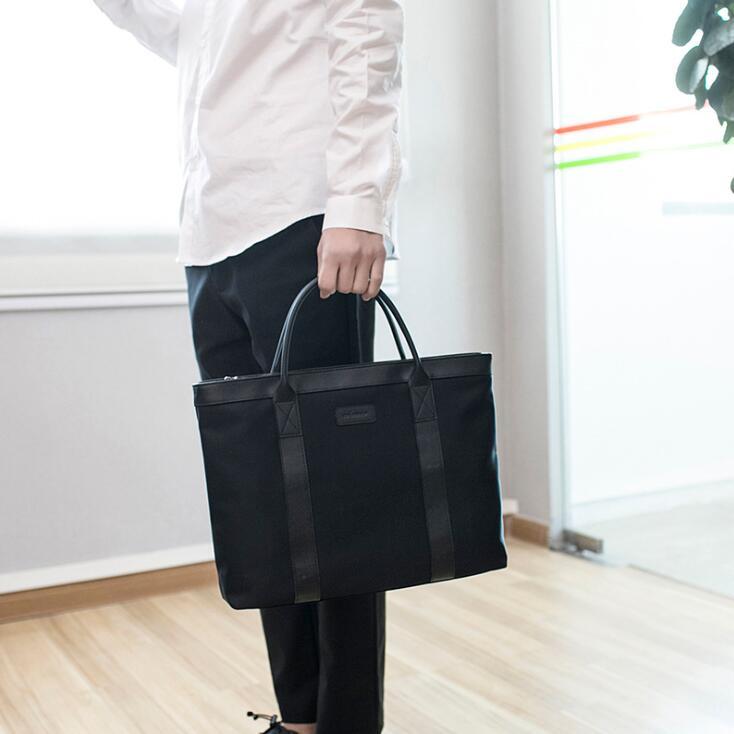 2018 Для женщин сумка для ноутбука 13,3 дюймов Тетрадь компьютерные сумки на ремне легкий нейлон Портфели классические сумки Дорожная сумка