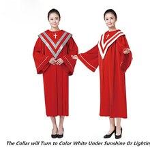 Church Service Red Green Vestment Choir Robe Gown Ladies Mens Priest Preachers Graduation Sabbath Anthem Party Outfit