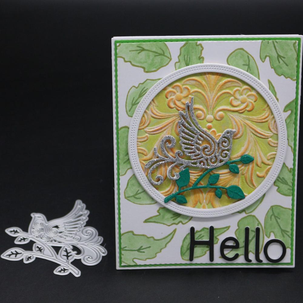 AZSG bird Dies For DIY Scrapbooking Dies Decoretive Embossing DIY Decoative Cards Die Cutter in Cutting Dies from Home Garden