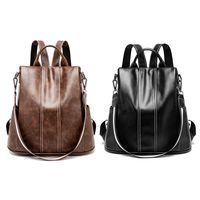 Women Lady Girls Backpack Travel Shoulder Bag PU Leather Rucksack Daypack Bags