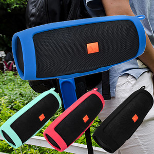 Wireless Bluetooth Speaker For JBL charge3 Bluetooth Speaker CasePortable Mountaineering Silicone Case Outdoor Speaker for PC#PN(China)