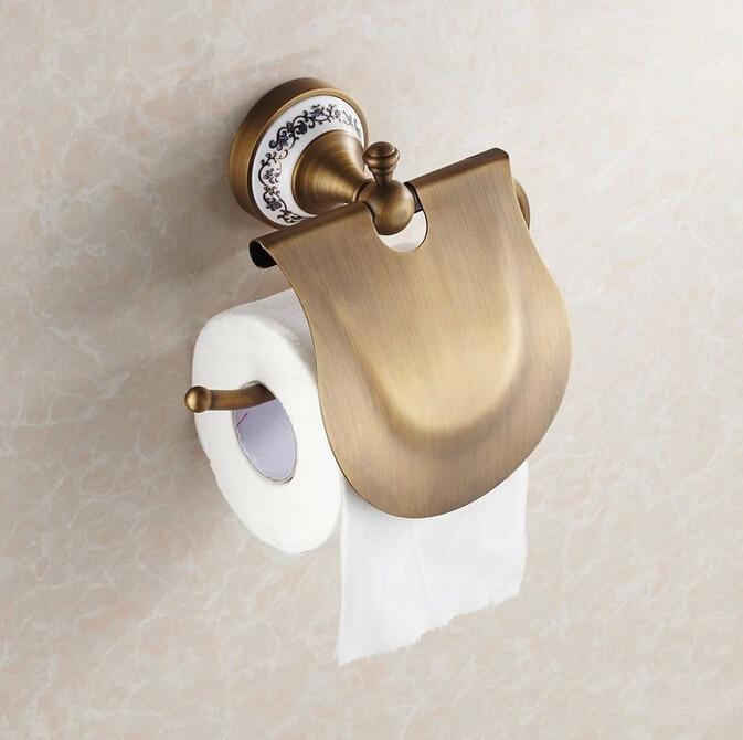 ФОТО High Quality Antique bronze Paper Holder/Paper roll Holder/Tissue Holder/Tissue box,Brass Construction Bathroom Accessories