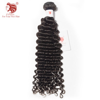 FYNHA Malaysian Deep Wave Remy Hair Natural Color 100 Human Hair Bundles 10 28 Inch