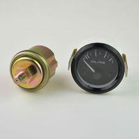 2 Inches Black Analog Car Modification Racing Oil Pressure Gauge0 7 Kg Incidental Sensor