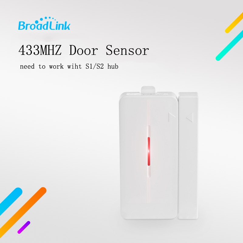 New Broadlink S1 Accessories Alone Sensor SmartONE Smart Home Sensor Contorls in Sensors Connected By IOS and Android