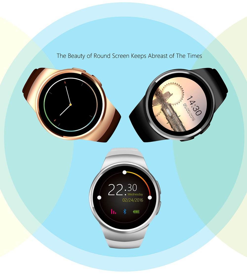 1montre intelligente Bluetooth Smart Watch Android IOS