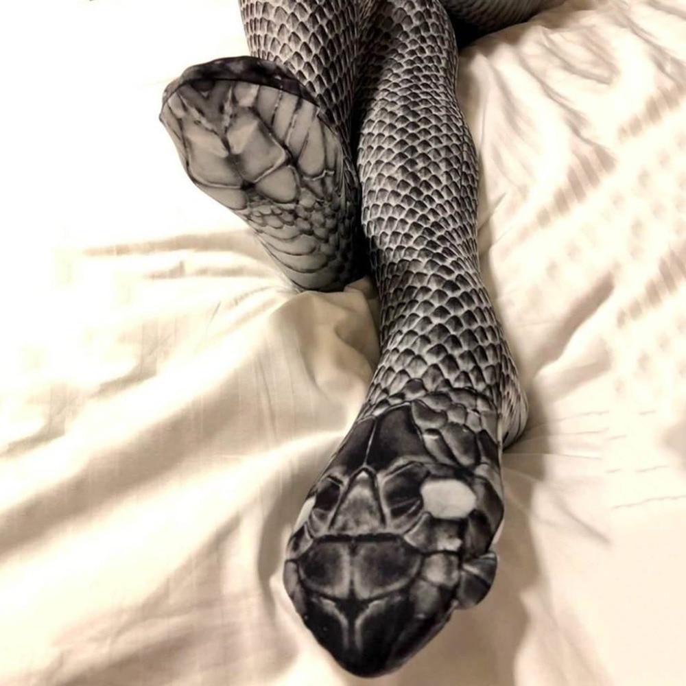 High Waist Women Snake   Leggings   Unique Sex Put Hip Elastic Woman   Legging   Breathable Sports Pants Trouser leginsy damskie S006