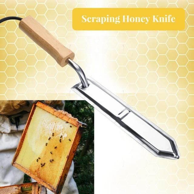 110V-220V Electric Uncapping Knife Bee Beekeeping Honey Cutter Stainless Steel Scrape Bee Extractor Beekeeping Tools