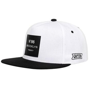 Fashion Men Women BROOKLYN Letters cotton adjustable Baseball Cap Leather label N86 Hip Hop Caps Sun Hat Unisex Snapback Hats 10