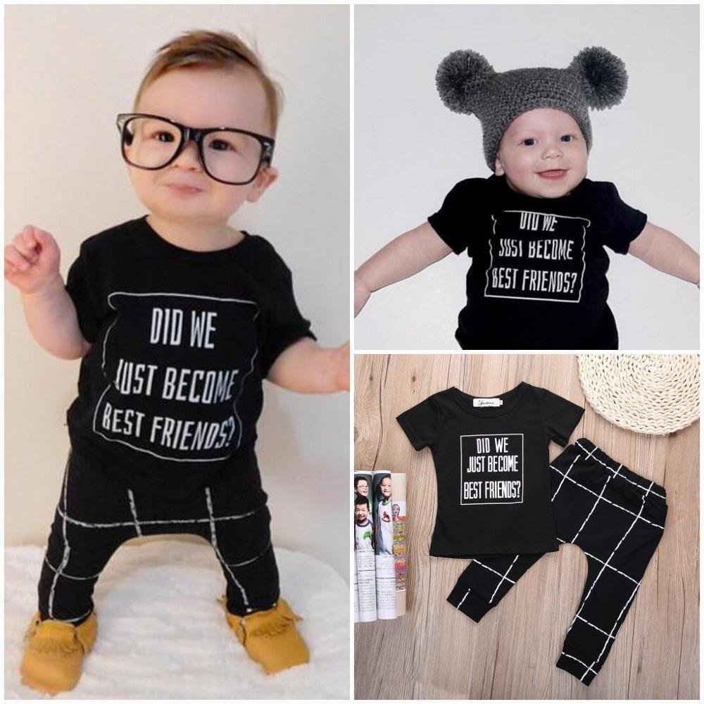 2016 Wholesale New Brand Newborn Toddler Baby Boy Clothes