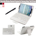 2in1 For Samsung Galaxy Tab S2 8.0 Inch Tablet T710 T715 DETACHABLE QWERTY Wireless Bluetooth Keyboard  Stand Case + Pen