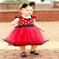 Bebé Vestido de la Muchacha de Minnie Muchachas del Diseño de Ropa de Bebé Del Tutú de la Princesa de Malla Vestidos de Fiesta Vestido de Fiesta de Verano Para La Muchacha Infantil Traje