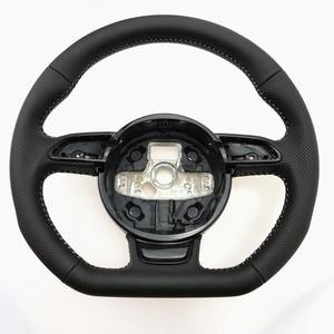 Image 1 - NoEnName_Null Audi A3 A4 A5 A6 A7 Q3 Q5 Q7 tam delikli direksiyon düz alt direksiyon kampanyası