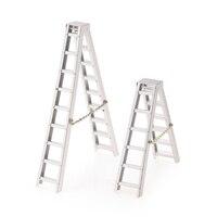 RC Car Parts 1:10 RC Crawler Metal Aluminum Mini Ladder for SCX10 RC4WD D90 D110 TAMIYA CC01 TRX4 Cars RC Model