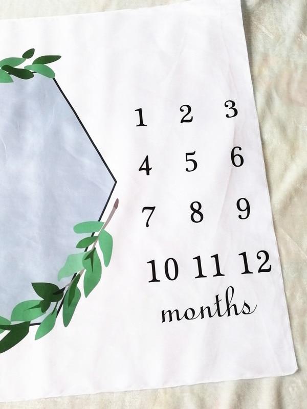 HTB1olgjXZrrK1RjSspaq6AREXXa0 Cartoon Pattern Infant Baby Milestone Photo Props Background Blankets Play Mats Backdrop Cloth Calendar Photo Accessories Nordic
