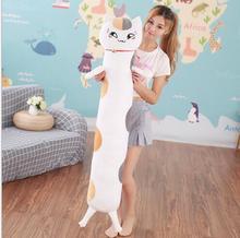 WYZHY  Plush Toys Summer Friends Account Cat Teacher Long Strips Sleeping Pillows 140CM