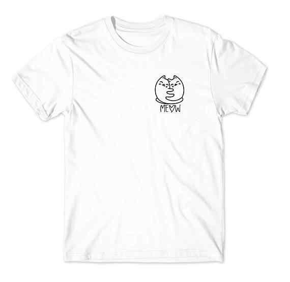 Объятия кошки рубашка-рубашка с животным-унисекс или женская рубашка питомец подарок кошка леди кровать игрушка для сна Kitten-D515