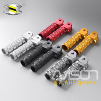 Motorcycle Front Footpegs Rider Foot Pegs Pedal Footrests CNC for Honda HORNET 600 250 HORNET900 VTR1000SP CB1300SF/SB