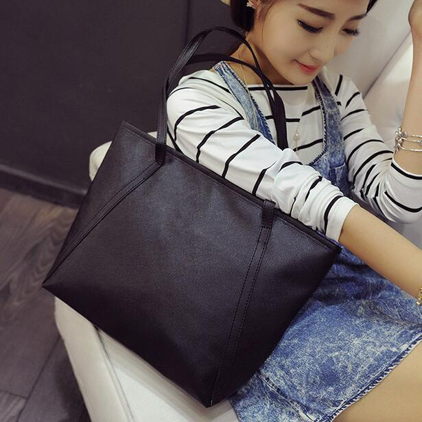 2017 High quality PU Leather Handbags Womens Designer Tote bag The Big Womens Shopping Bag Lady Large Handbags Shoulder Bags