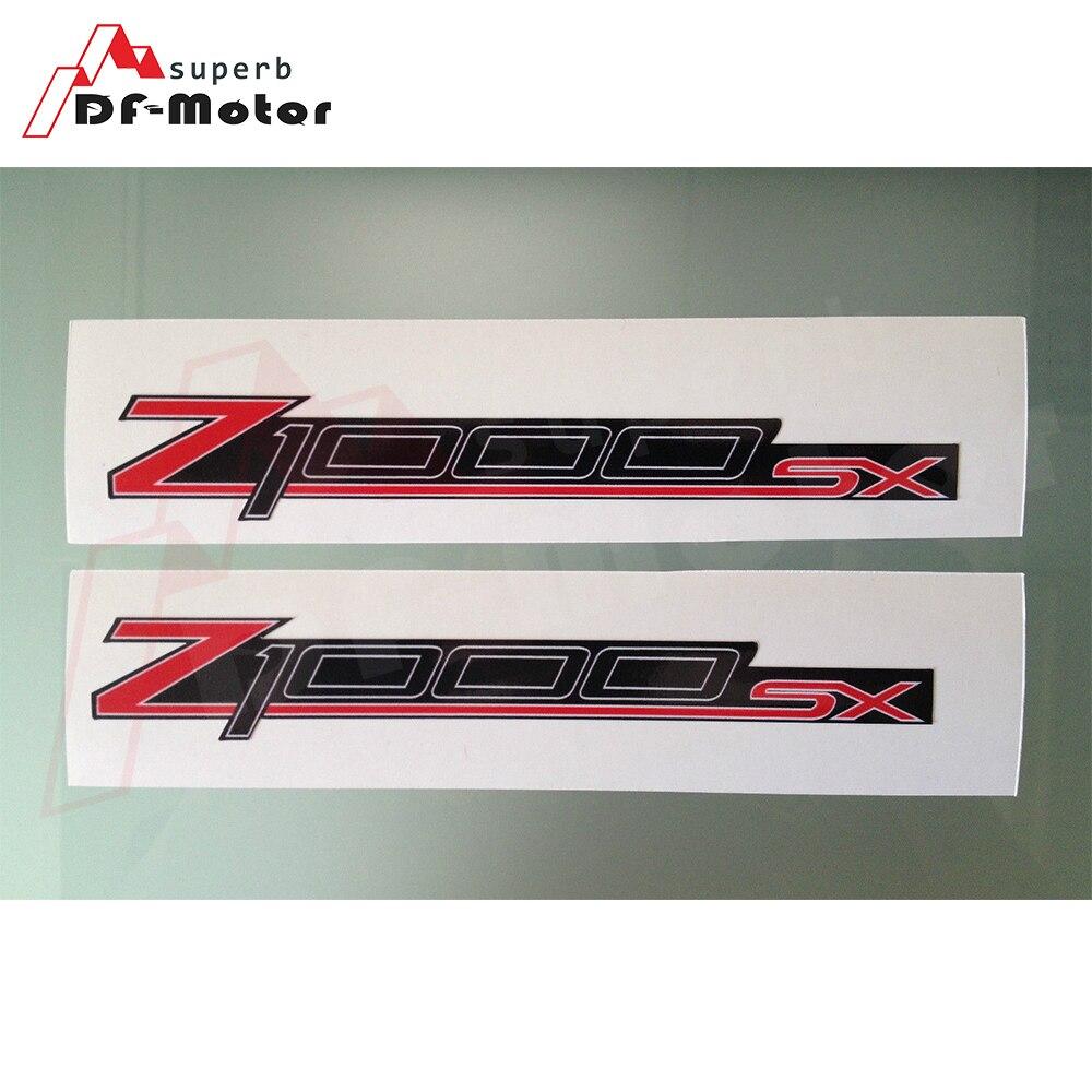 3M Sticker 1Pair Z1000SX Fairing Upper Fairing Decals / Stickers Fit For Kawasaki Z1000SX Z1000 SX Motorcycle Sticker Decals