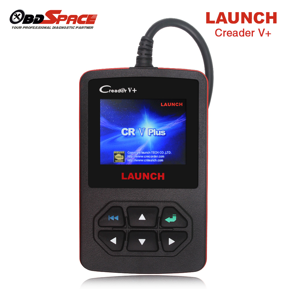 Hot sale auto diagnostic scanner launch creader v obd2 fault code reader evap o2 sensor test