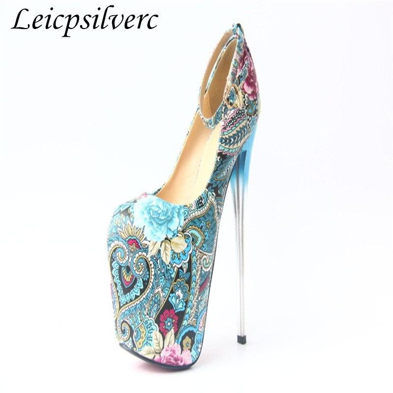 Mètres Femme Nouveau Printemps Chaussures Style 2 À 20 Haute 43 Ethnique Automne Et Taille Cm 1 Super Talons Hauts xaqCaRwZ