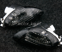 Z tyłu żarówka do kierunkowskazu soczewki dla Suzuki Hayabusa GSXR1300 2008 2012 dym motocykl na