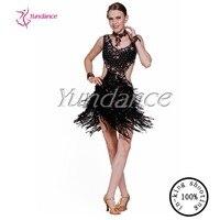 Yundance Ballroom Latin Rumba Jive Chacha Dance Dress L 11183