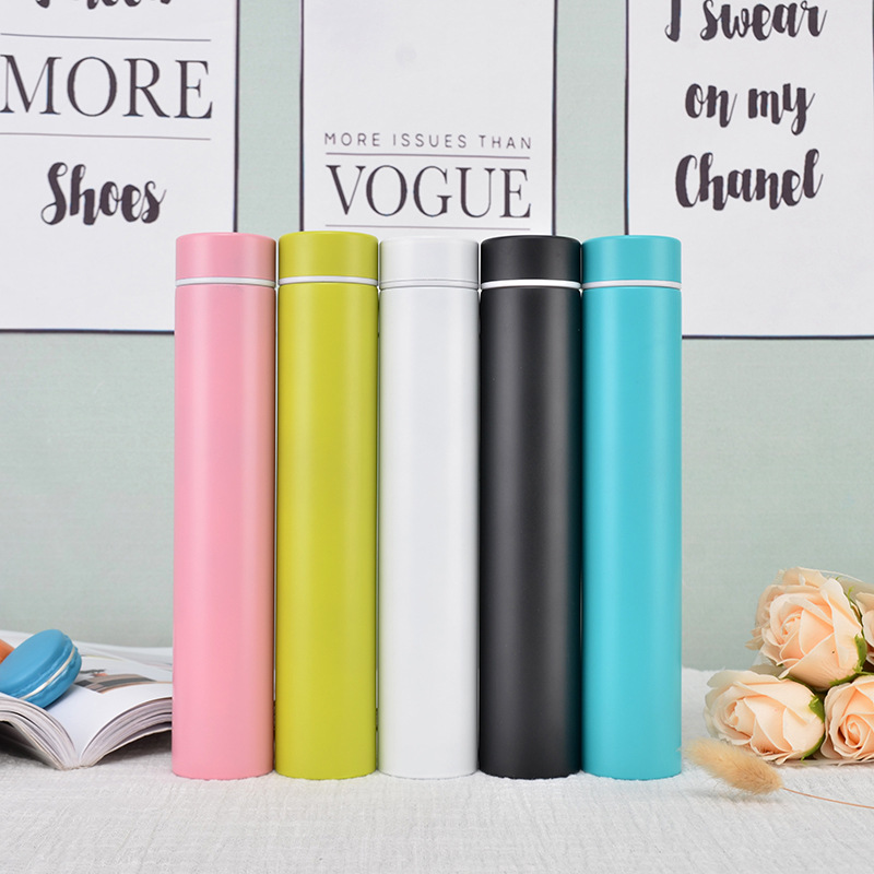 Slim and Insulated Thermal Flask and Vacuum Bottles for Carrying Hot Water and Coffee Outdoor 3