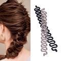 1pc New Roller Hair Styling Tools Weave Braid Hair Braider Tool DIY Hair Styling Magic Twist Bun Maker Hair Accessories