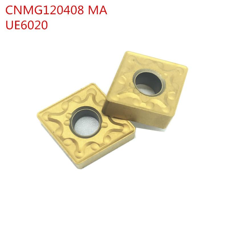 10PCS  CNMG120408 MA UE6020 External Turning Tools Carbide insert Lathe cutter Tool Tokarnyy turning insert10PCS  CNMG120408 MA UE6020 External Turning Tools Carbide insert Lathe cutter Tool Tokarnyy turning insert